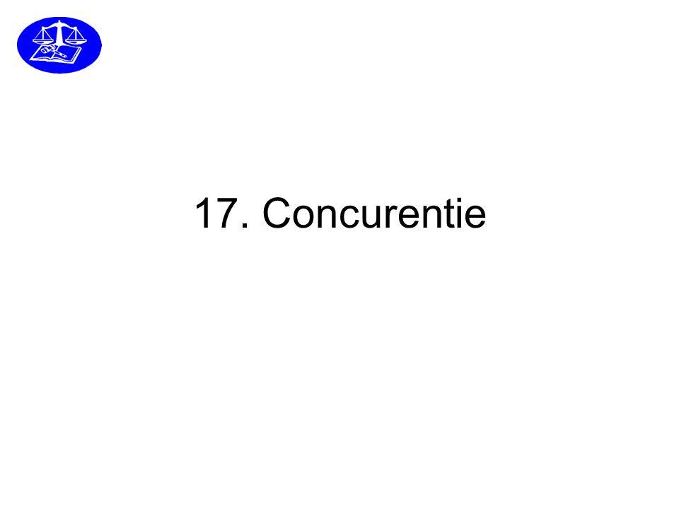 17. Concurentie