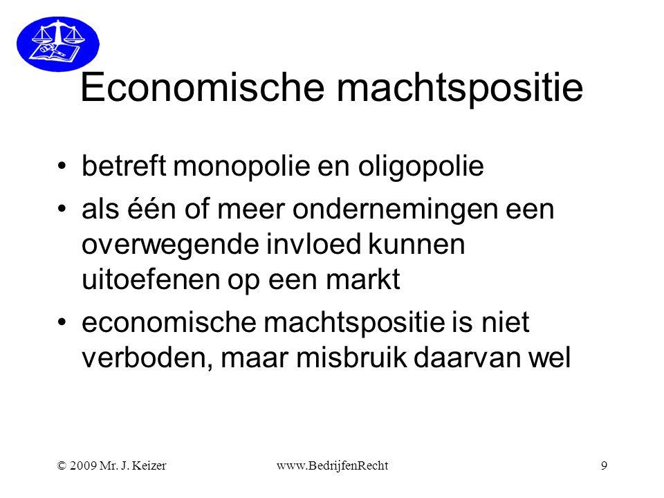 ECONOMISCHE MACHTSPOSITIE.