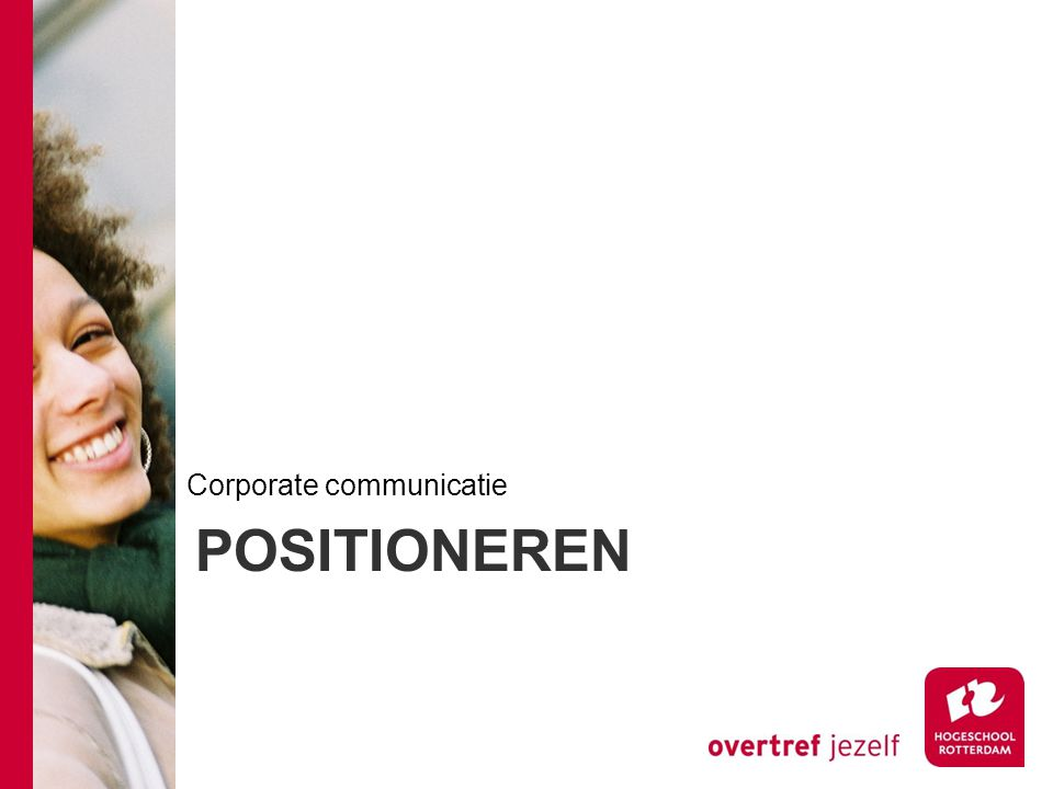 POSITIONEREN Corporate communicatie