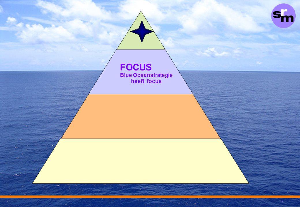 19 FOCUS Blue Oceanstrategie heeft focus