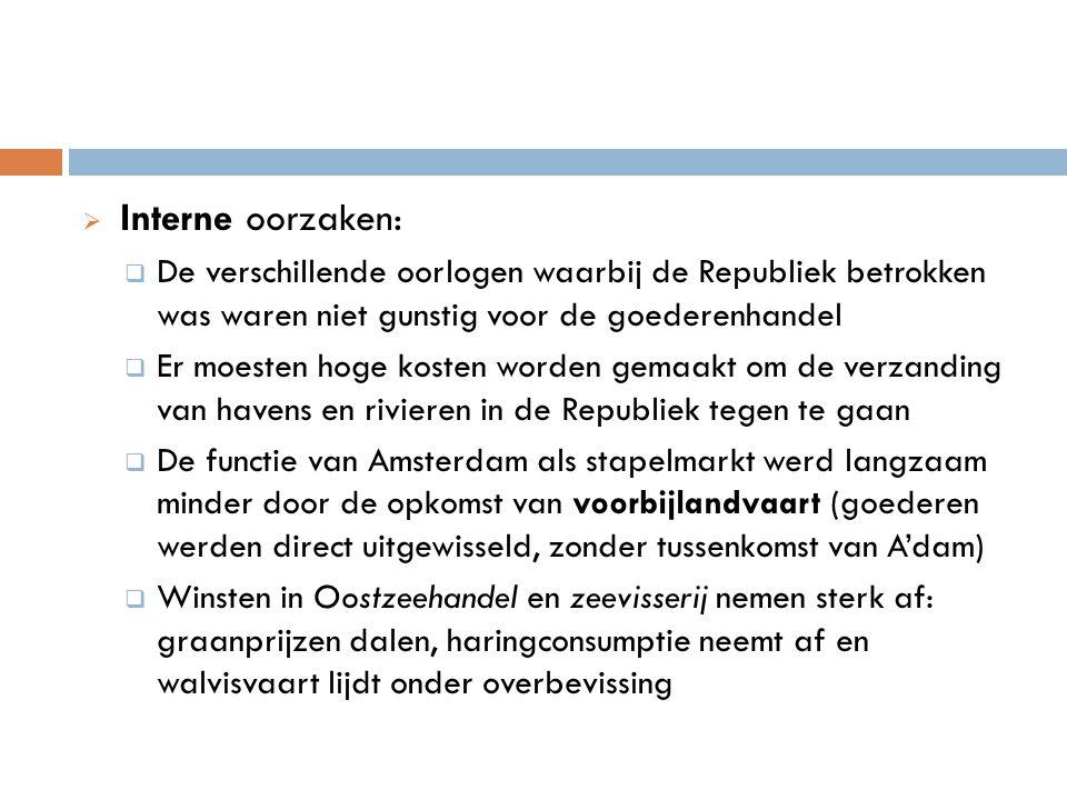 Zandbanken in het IJ vormden grote obstakels en belemmerden het Amsterdamse handelsverkeer steeds meer.