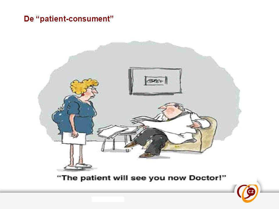 """De """"patient-consument"""""""