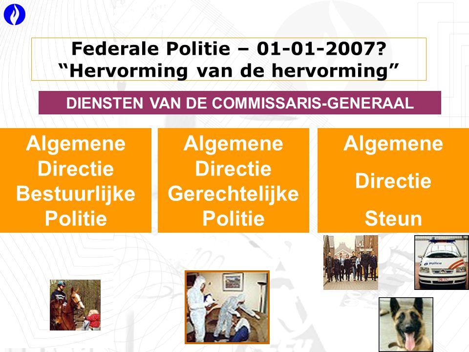 Federale Politie – 01-01-2007.