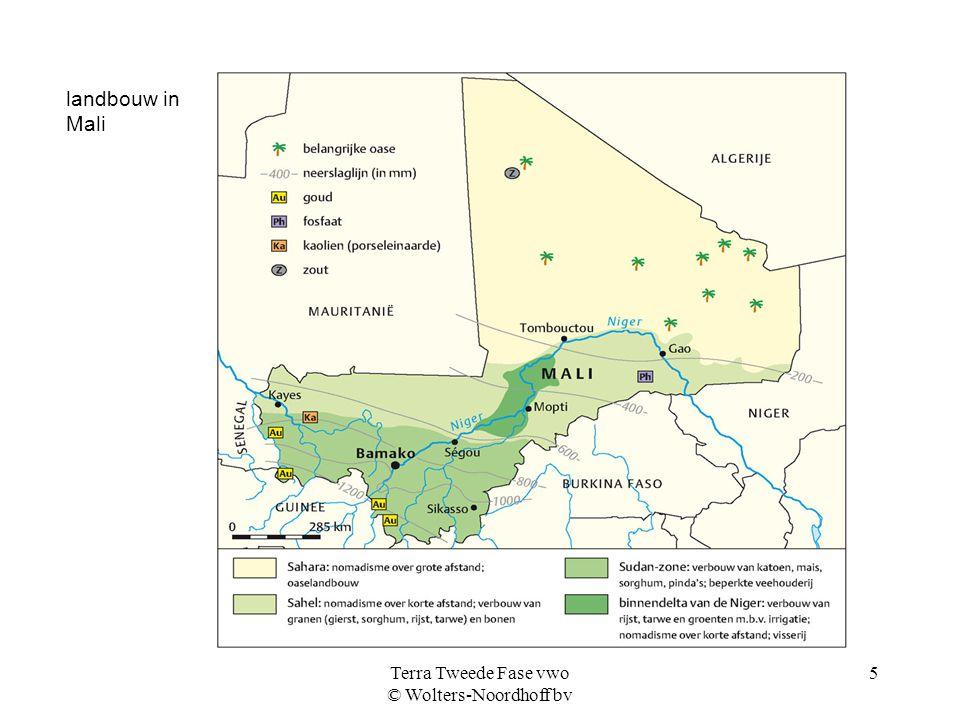 Terra Tweede Fase vwo © Wolters-Noordhoff bv 5 landbouw in Mali