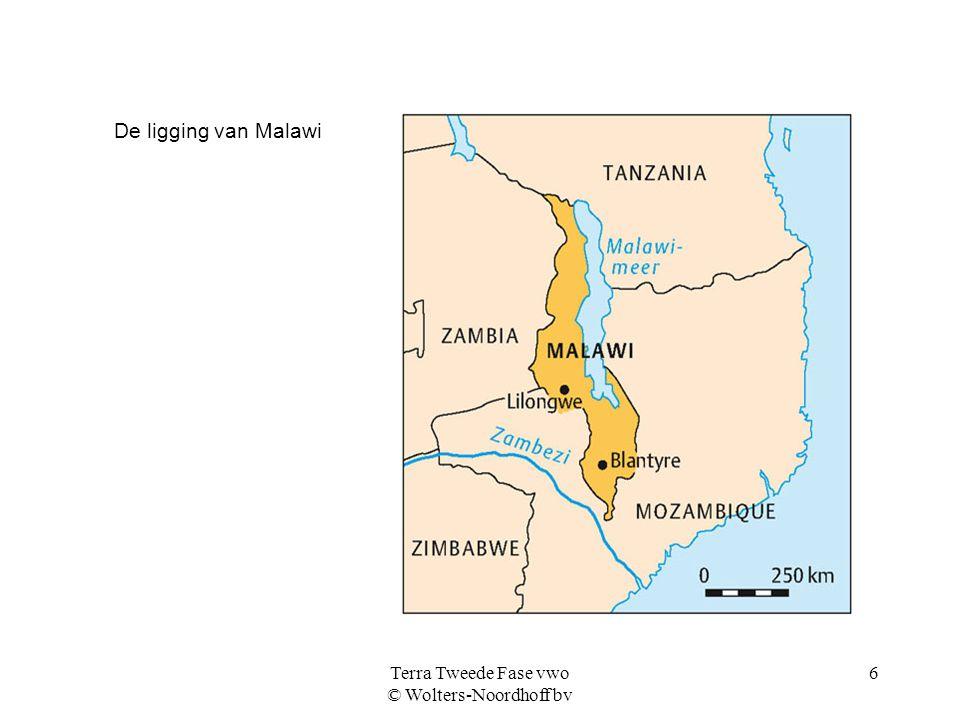 Terra Tweede Fase vwo © Wolters-Noordhoff bv 6 De ligging van Malawi
