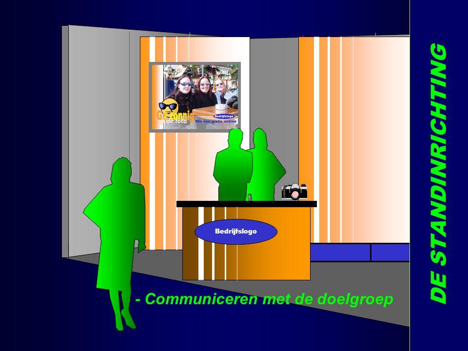 Bedrijfslogo DE STANDINRICHTING - Communiceren met de doelgroep X