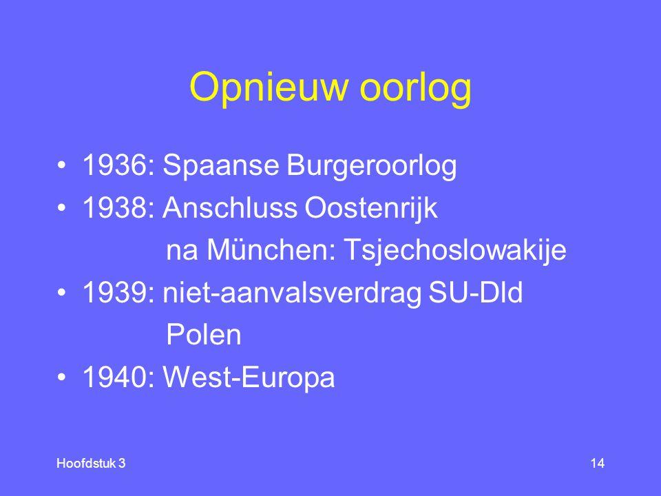 Hoofdstuk 213 Keerpunt Versailles [2] 1925: Verdrag Locarno ec.crisis 1929 1933: Hitler kanselier Versailles/Locarno