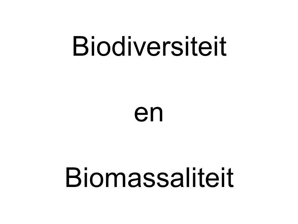 Biodiversiteit en Biomassaliteit