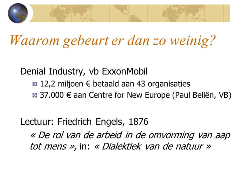 Biobrandstoffen – Benodigde oppervlakte Brandstofverbruik voor transport in Europa: 380 Mtep Doel EU = 17 Mtep biobrandstoffen in 2010 = 10 miljoen ha Volledig: verbruik = 200 miljoen ha = volledig landbouwareaal van Rusland.