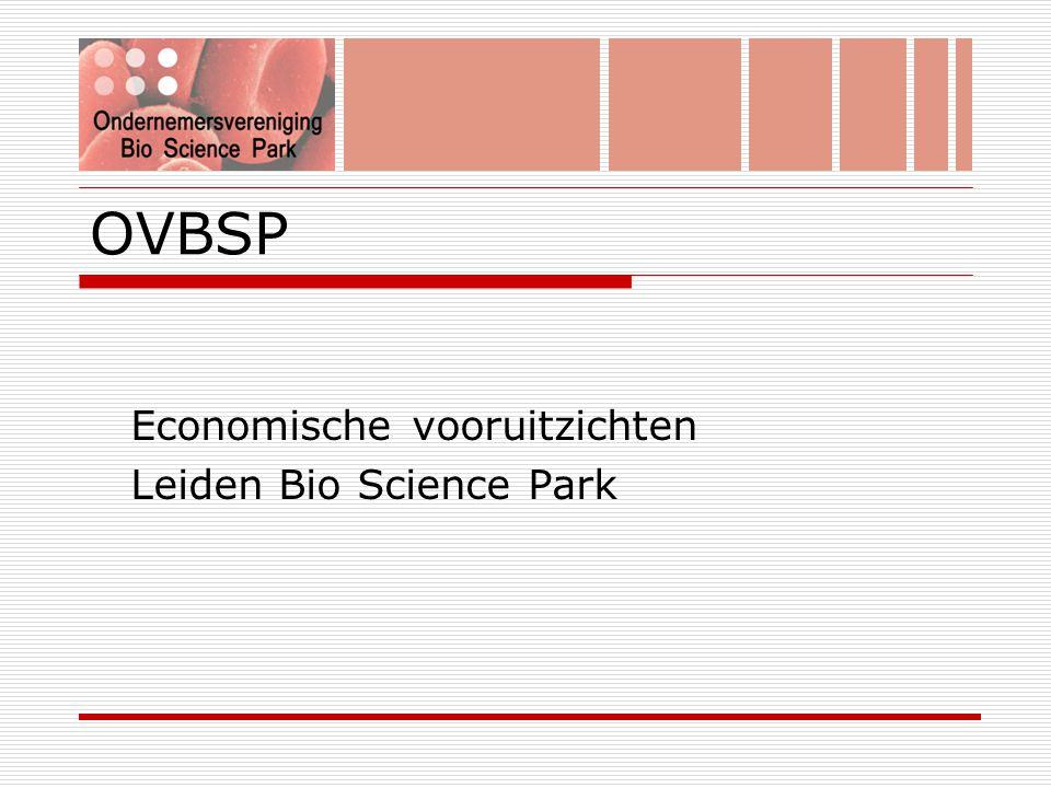 OVBSP Economische vooruitzichten Leiden Bio Science Park