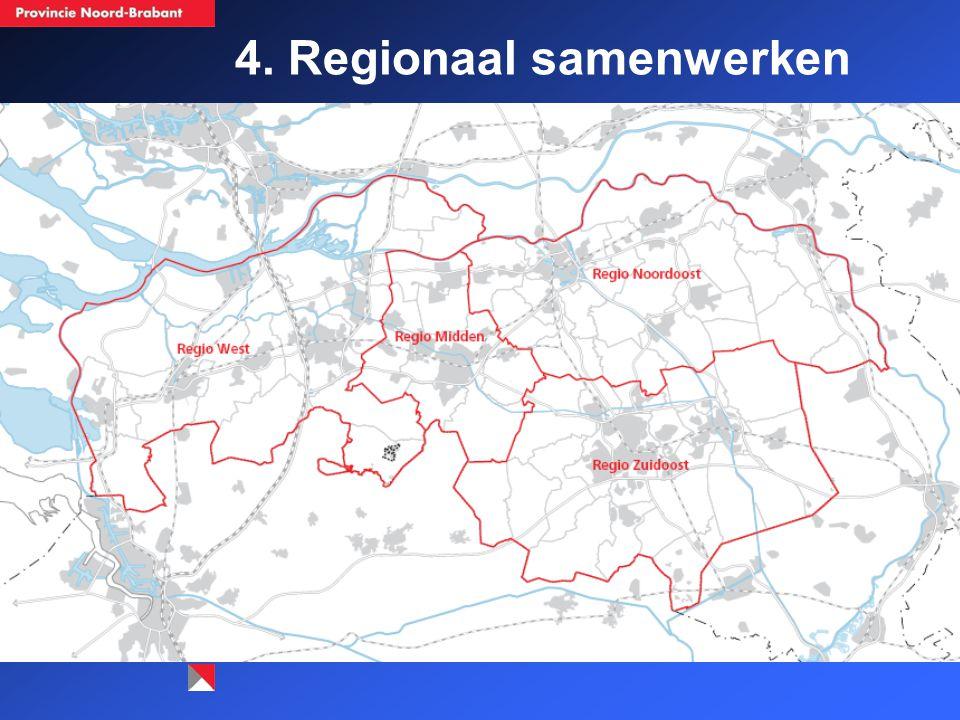 4. Regionaal samenwerken