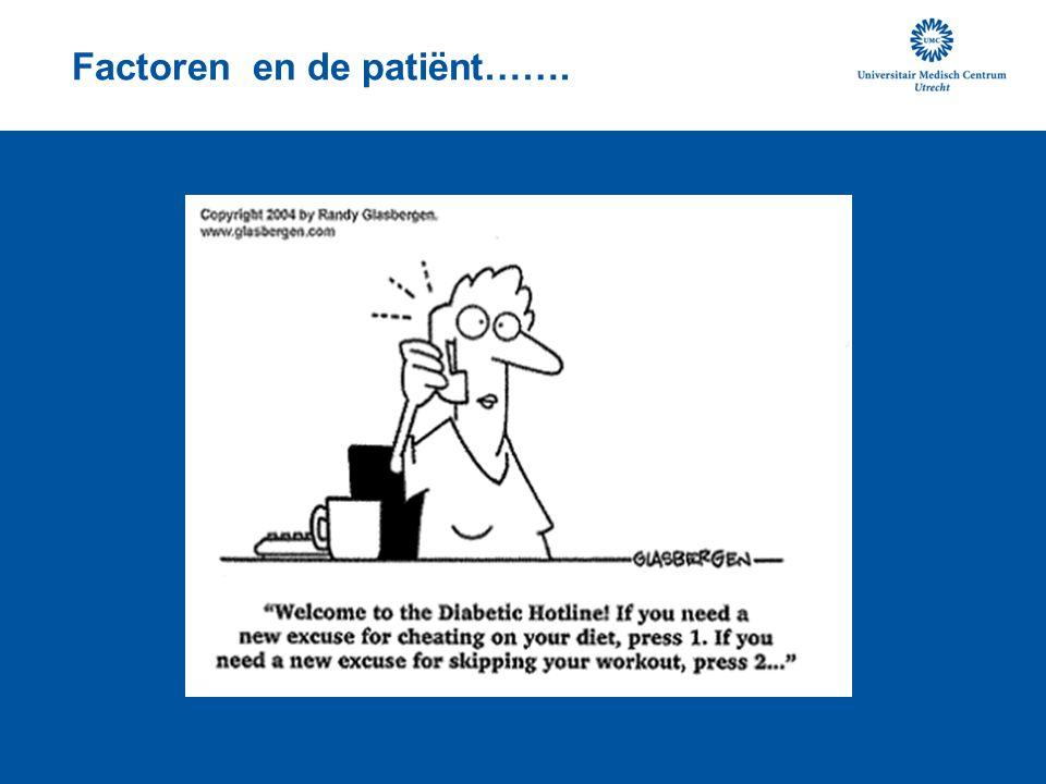 Factoren en de patiënt…….