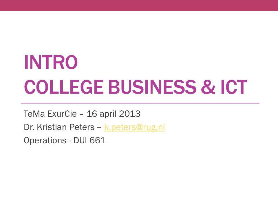 Business & ICT