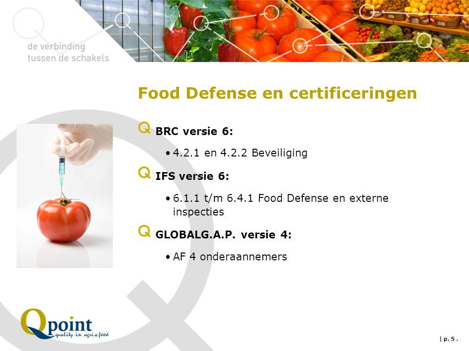 Food Defense, hoe van start te gaan.