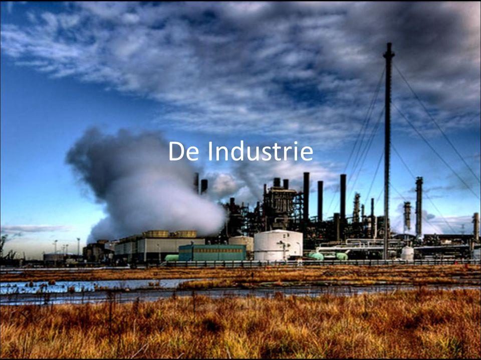 Grondstoffen bepalen lokalisatie van de industrie Aanwezigheid energie Goedkope arbeidskrachten