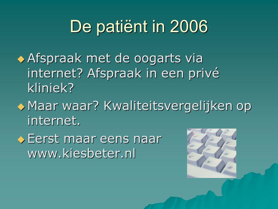 www.kiesbeter.nl Ik kan zoeken op: Wachttijd (varieert van 2 tot 16 weken) Prijs (varieert van 1370 tot 1937 euro) Kwaliteit ziekenhuis algemeen: een stelsel van vele tientallen wiskundige vergelijkingen met vele tientallen onbekenden.