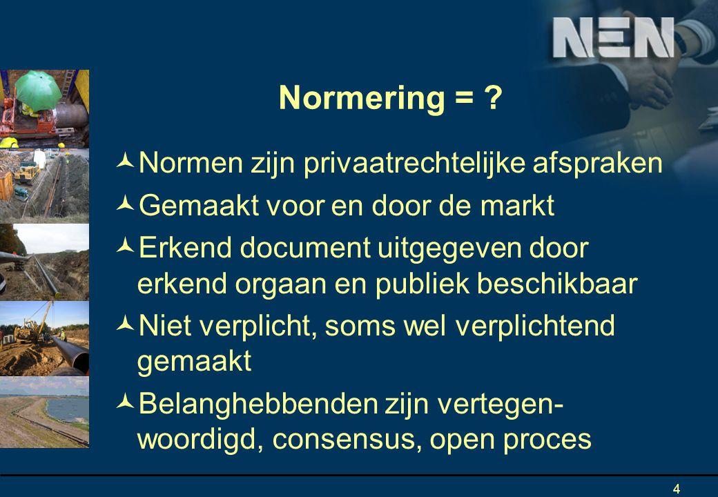 4 Normering = .