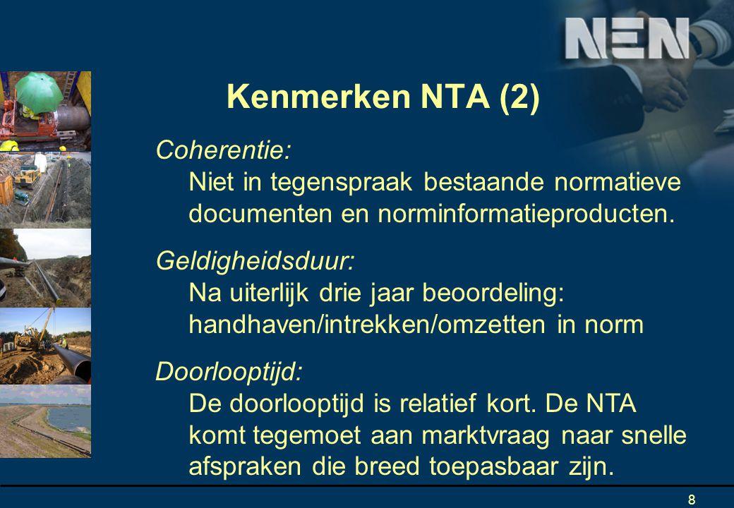 8 Coherentie: Niet in tegenspraak bestaande normatieve documenten en norminformatieproducten.