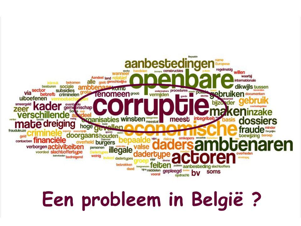 Een probleem in België ?