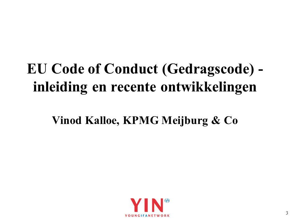 14 EU Code of Conduct Regimes die niet tot een schadelijk eindoordeel hebben geleid in de Raad: België - notionele interestaftrek (geen ring-fencing 1 en ring-fencing 2) Alle IP-regelingen (Lissabon strategie) Hongarije – optionele groepsrentebox - 50% grondslagvrijstelling voor ontvangen groepsrente - 50% renteaftrekbeperking voor betaalde groepsrente (optioneel) - effectief tarief 50% van 16% op dat moment = 8 % groepsrente