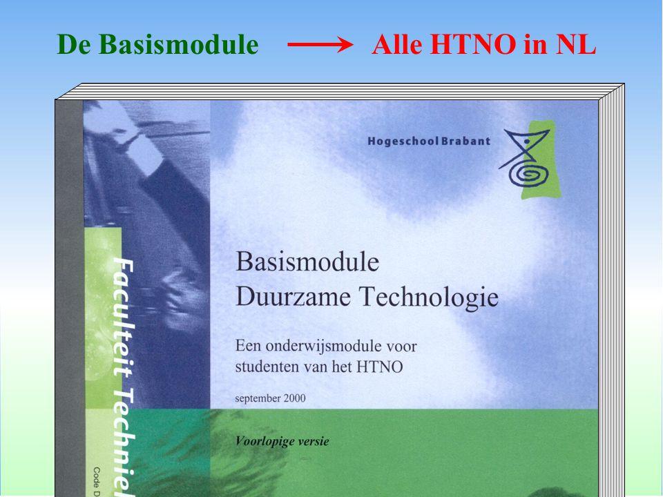 De BasismoduleAlle HTNO in NL