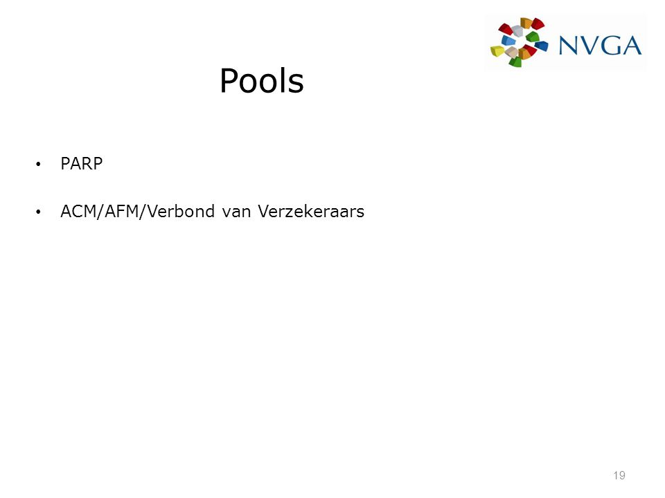 Pools PARP ACM/AFM/Verbond van Verzekeraars 19