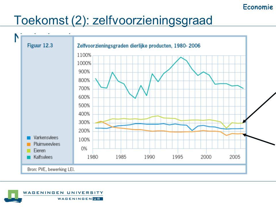 Toekomst (2): zelfvoorzieningsgraad Nederland Economie