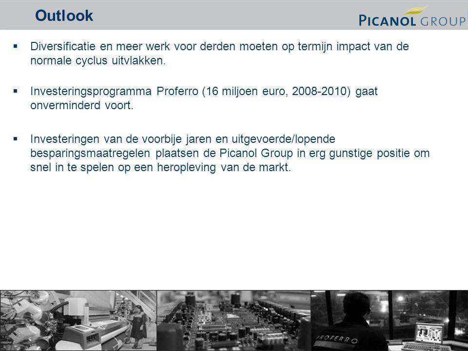 19  Diversificatie en meer werk voor derden moeten op termijn impact van de normale cyclus uitvlakken.