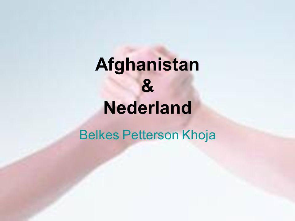 Afghanistan & Nederland Belkes Petterson Khoja