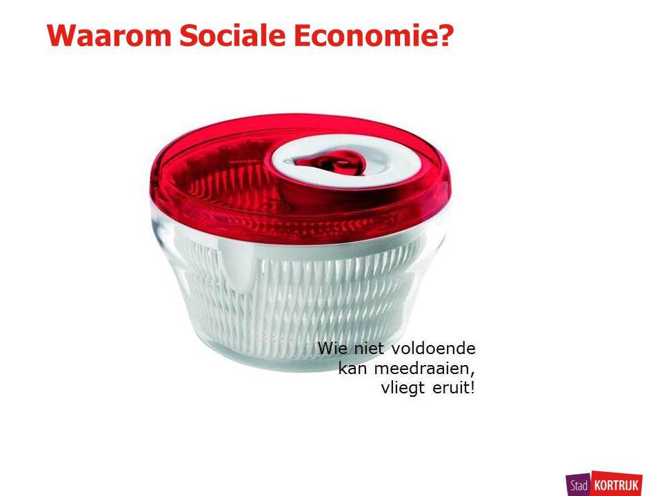 Waarom Sociale Economie?