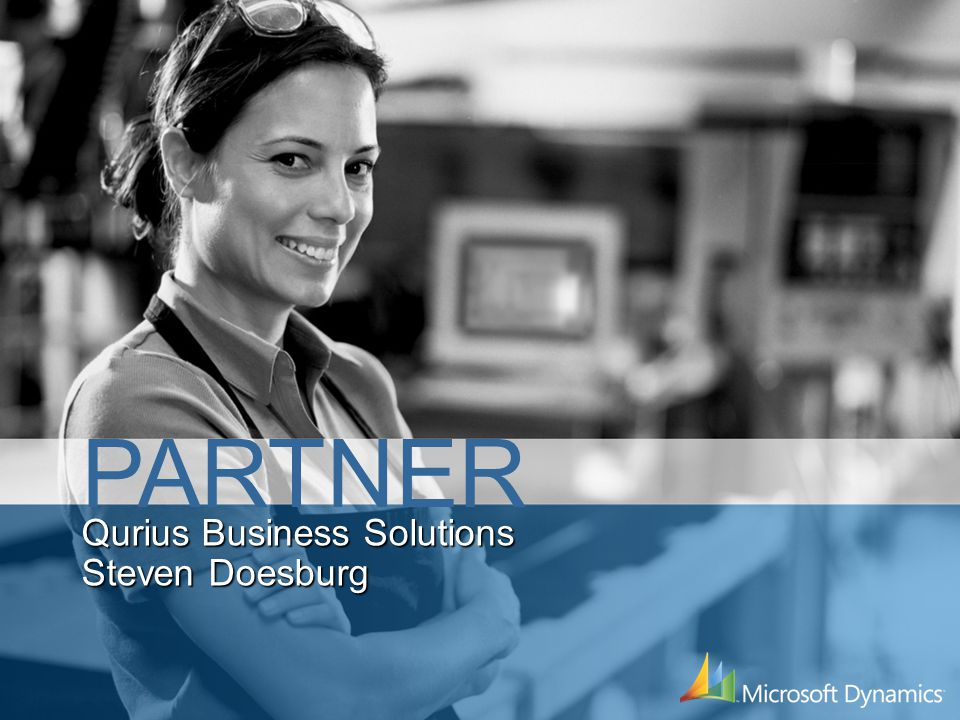 Qurius Business Solutions Steven Doesburg PARTNER