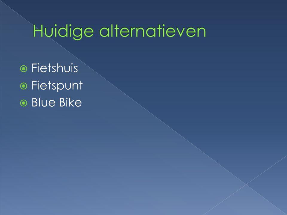  Fietshuis  Fietspunt  Blue Bike