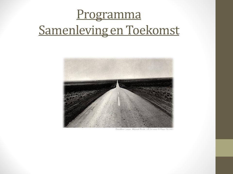 Programma Samenleving en Toekomst