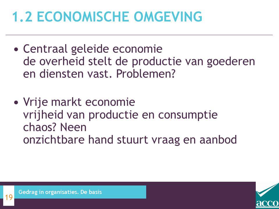 Centraal geleide economie de overheid stelt de productie van goederen en diensten vast. Problemen? Vrije markt economie vrijheid van productie en cons