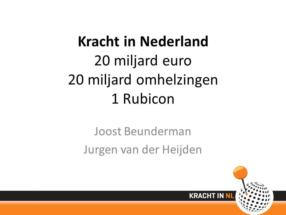 Kracht in Nederland 20 miljard euro 20 miljard omhelzingen 1 Rubicon Joost Beunderman Jurgen van der Heijden