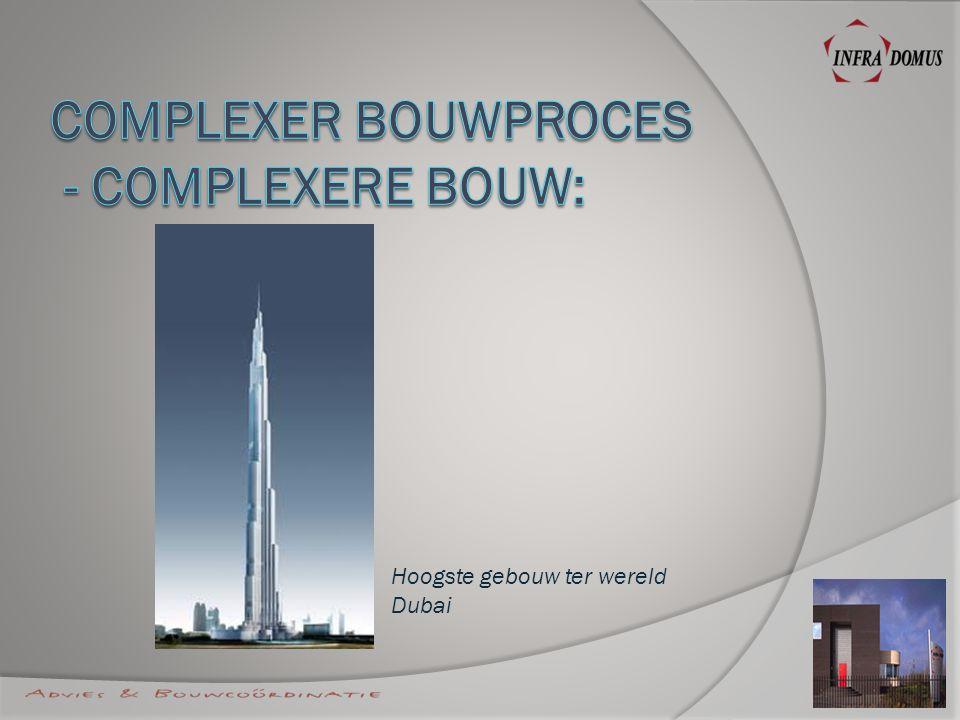Hoogste gebouw ter wereld Dubai