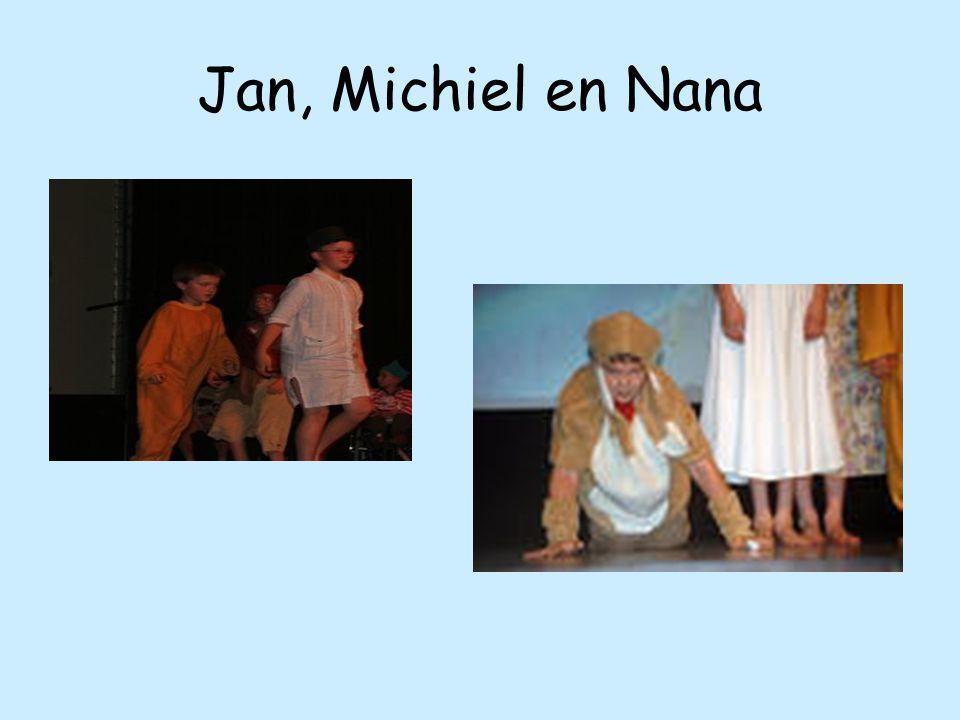 Jan, Michiel en Nana