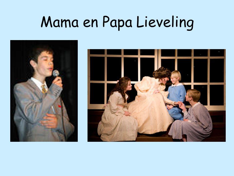 Mama en Papa Lieveling