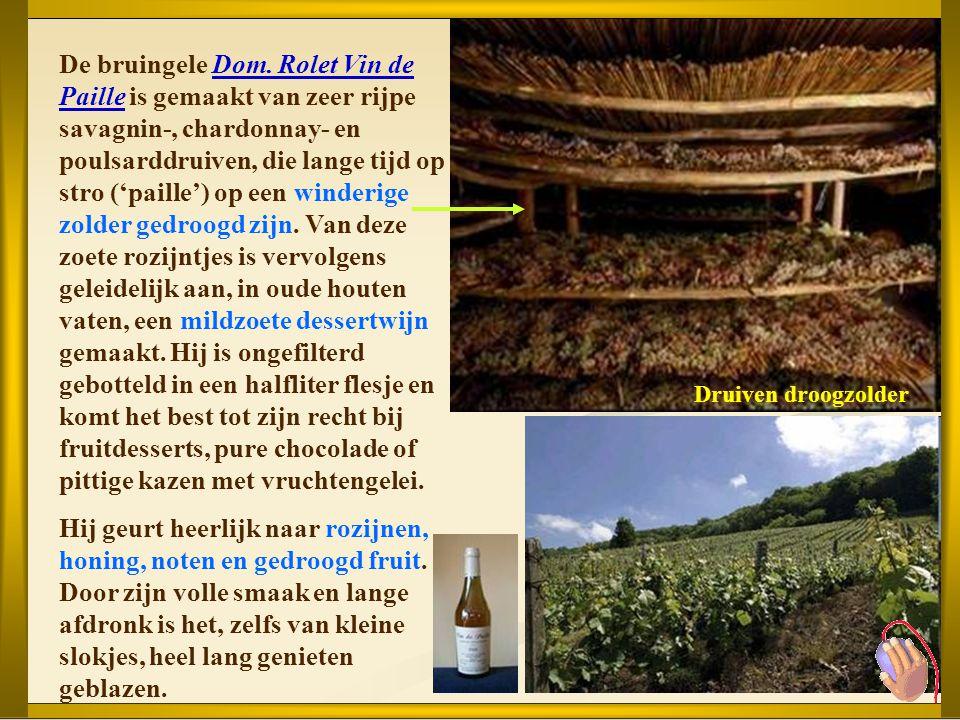 In hartje Jura ligt de kleine stad Arbois, vooral bekend om zijn wijngaard, de eerste die een A.O.C.- label kreeg in 1936. Arbois is echter ook de geb