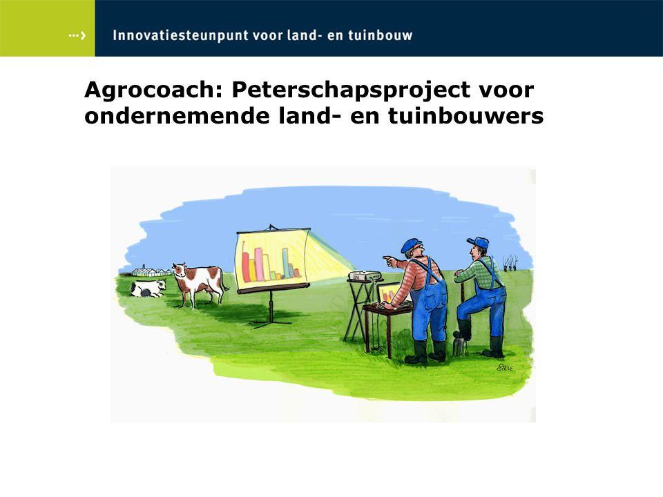 Agrocoach: Peterschapsproject voor ondernemende land- en tuinbouwers
