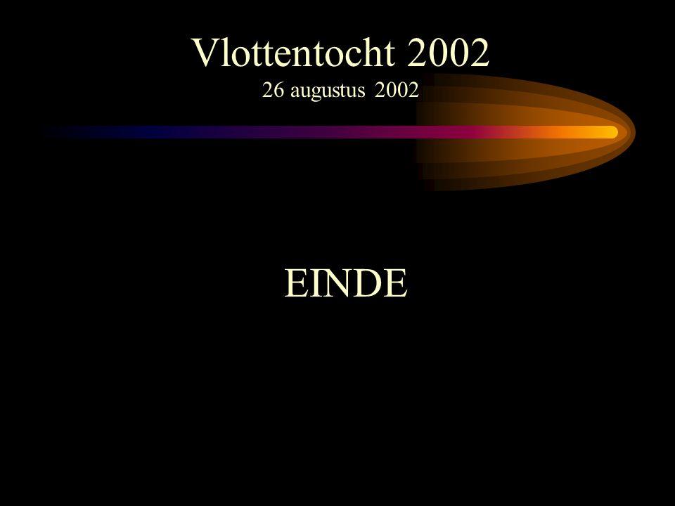 Vlottentocht 2002 26 augustus 2002 EINDE
