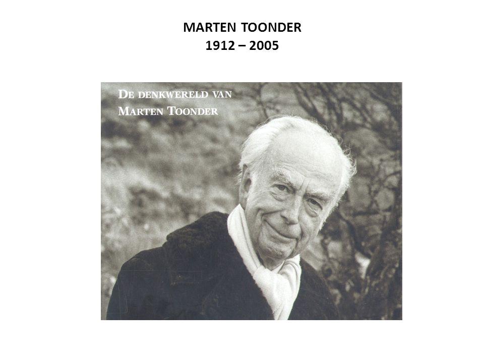 MARTEN TOONDER 1912 – 2005