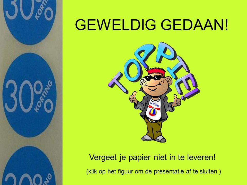 Wiskundetoets Terugbladeren in de presentatie Meneer de Jong is wiskundeleraar.