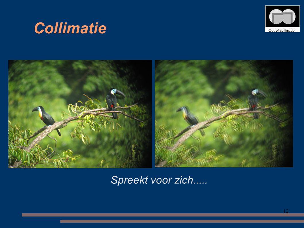 12 Collimatie Spreekt voor zich.....
