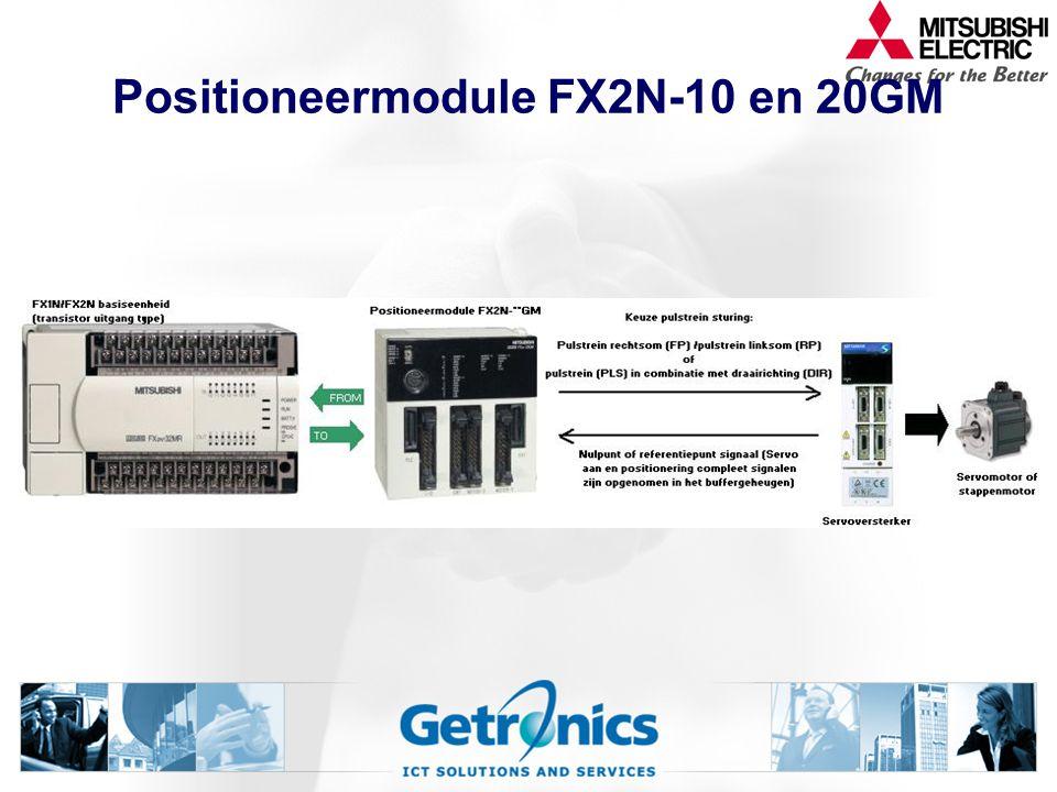Positioneermodule FX2N-10 en 20GM