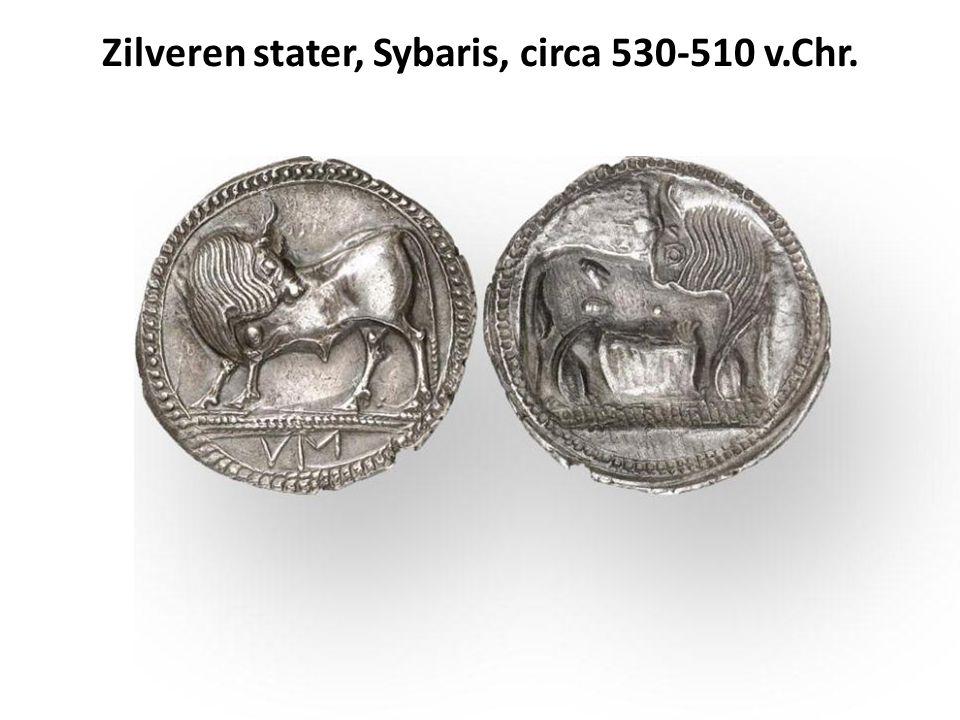 Geografische verspreiding van los gevonden Romeinse munten geslagen voor 450 n.Chr.