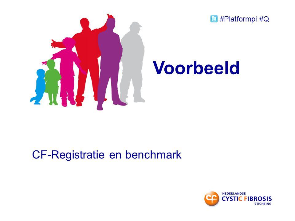 Voorbeeld CF-Registratie en benchmark #Platformpi #Q