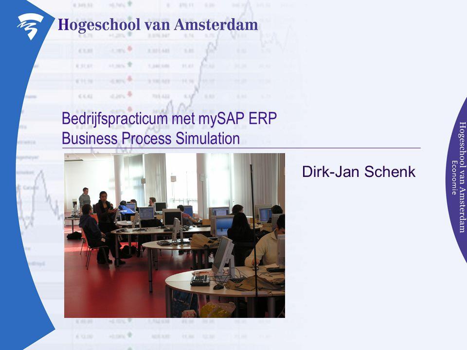 Agenda  Inleiding »SAP »BPS »SAP Kenniscentrum  Blueprint »Voorstel BPS voor de HvA
