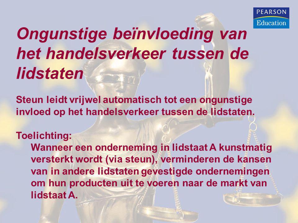 Aanmeldingsplicht (artikel 108, lid 3, VWEU): De lidstaten moeten voorgenomen steunmaatregelen bij de Commissie aanmelden.
