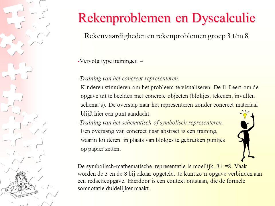 Rekenproblemen en Dyscalculie Rekenen tot 100 Om de sommen van 20-100 op te lossen kan je 2 methoden gebruiken: hoofdrekenen en cijferen.